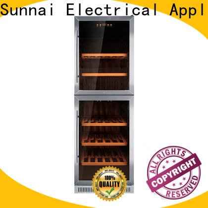 Sunnai steel small under counter wine refrigerator wholesale for work station