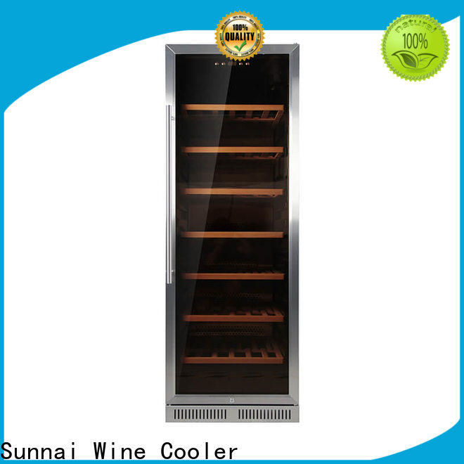 black black stainless steel wine fridge steel wholesale for shop
