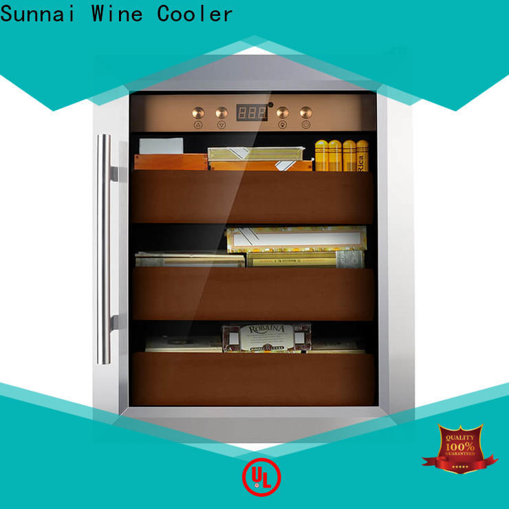quality stainless steel cigar humidor cooler factory for work station