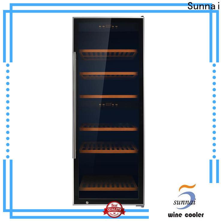 Sunnai compressor fridge with wine fridge refrigerator for home
