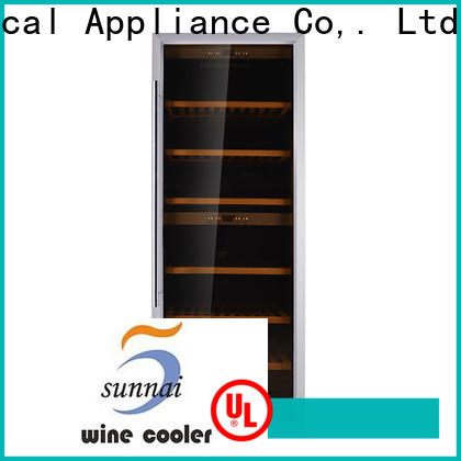 single electric wine chiller cellar wholesale for work station