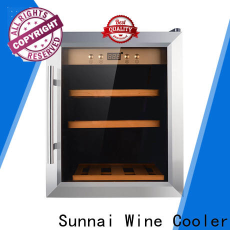 Sunnai smaller thin wine cooler supplier for work station