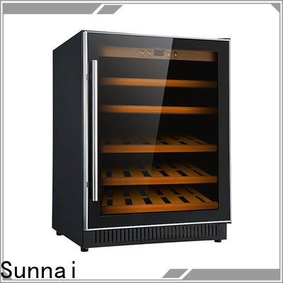 Sunnai fridge small under counter wine refrigerator supplier for indoor
