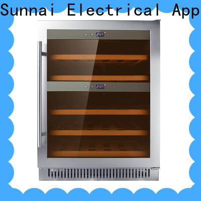 Sunnai panel small under counter wine refrigerator wholesale for work station