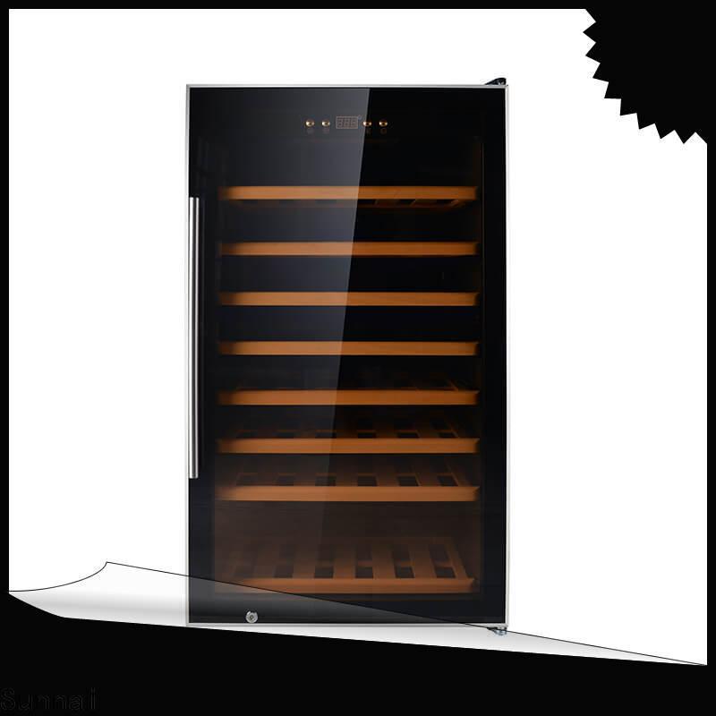 Sunnai bottles wide wine refrigerator manufacturer for shop