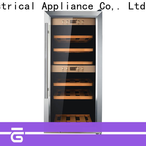high quality wide wine fridge zone wholesale for shop