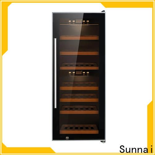 Sunnai online wine chiller cooler refrigerator for indoor