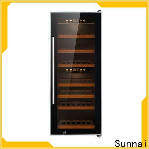 Sunnai online wine chiller cooler refrigerator for indoor
