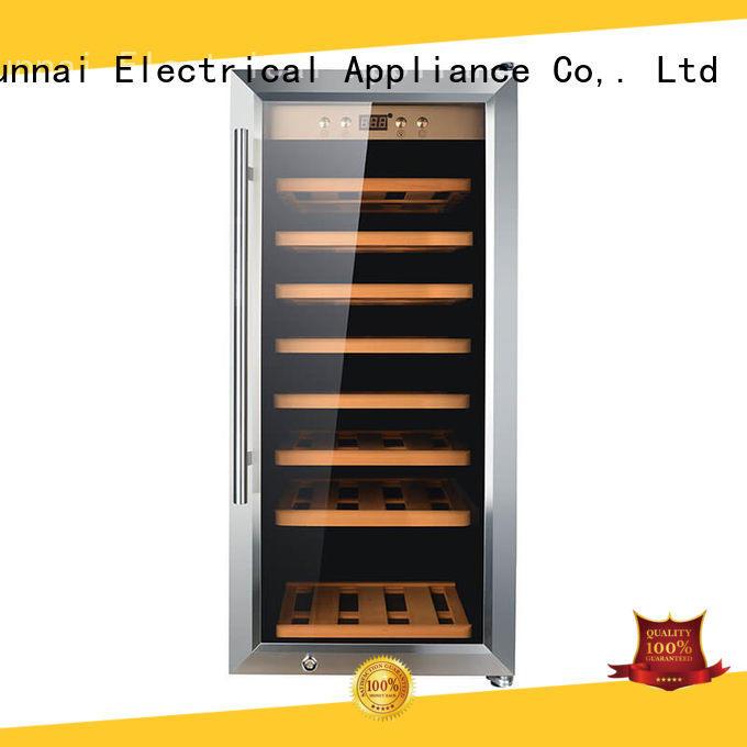 Sunnai online freestanding wine cooler refrigerator for shop