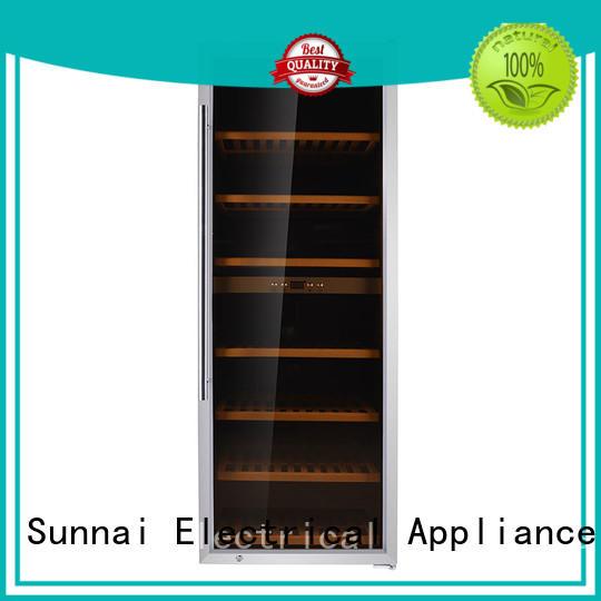 Sunnai safety wine storage cooler supplier for indoor