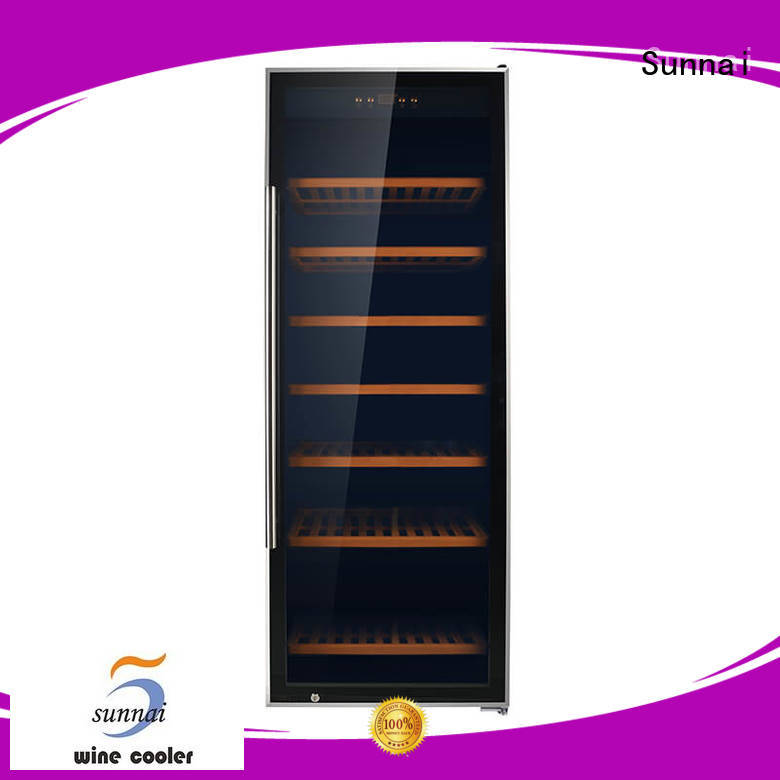 Sunnai wine freestanding wine cooler series for shop