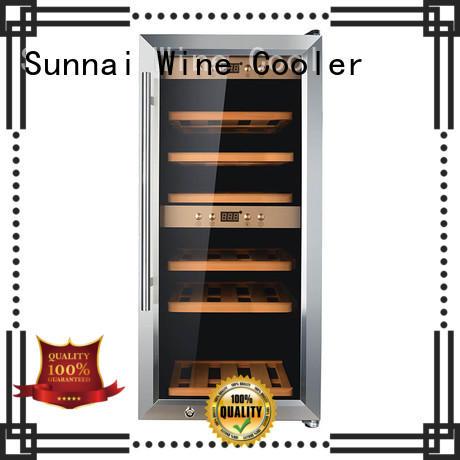 durable dual zone wine fridge single series for home