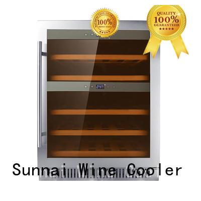 Sunnai panel compressor wine coolers cooler for work station