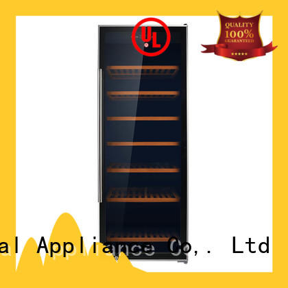 wine single zone wine fridge shelves manufacturer for work station