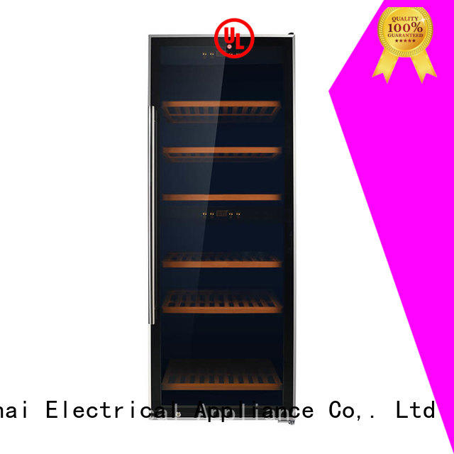 Sunnai chiller dual zone wine refrigerator refrigerator for shop