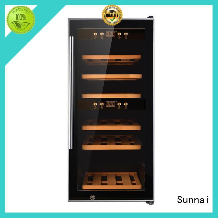 durable single zone wine cooler door refrigeratorfor indoor