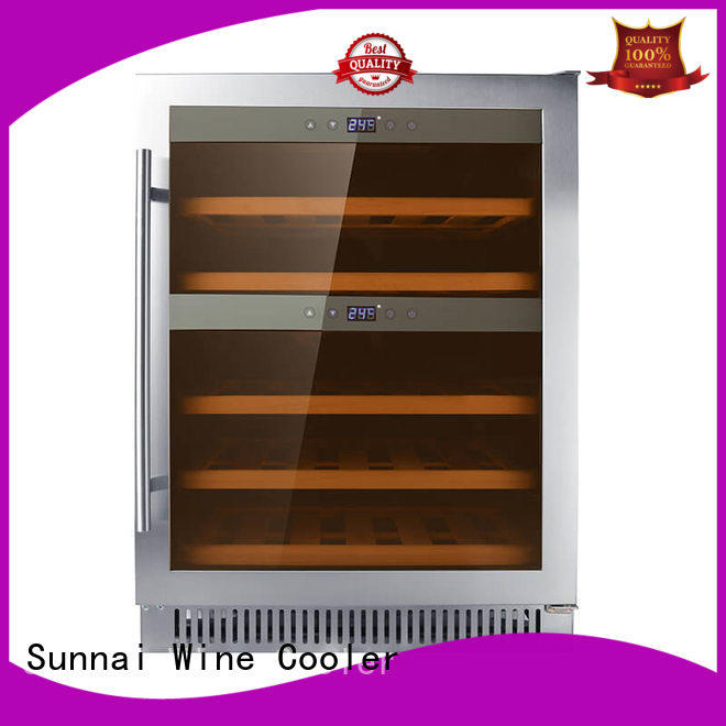 online single zone wine fridge cooler compressor for shop