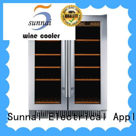 black under counter wine fridge double manufacturer for indoor
