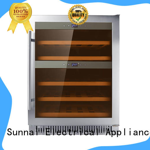 Sunnai bottles under counter wine fridge manufacturer for work station