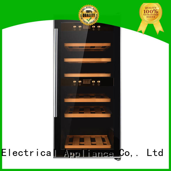 Sunnai size compressor wine cooler dual zone series for indoor