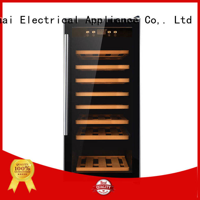 dual cooler wine refrigerator dual zone freestanding Sunnai Brand