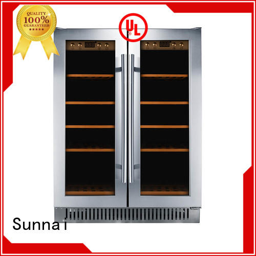 Sunnai cooler under counter wine refrigerator series for indoor