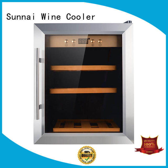black wine storage cooler zone wholesale for work station