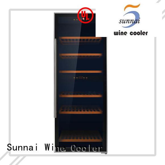 online wine storage cooler size supplier for shop