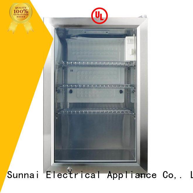 Sunnai dvr small size beverage cooler manufacturer for indoor