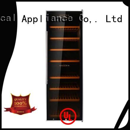 Sunnai high quality single zone wine cooler supplier for indoor