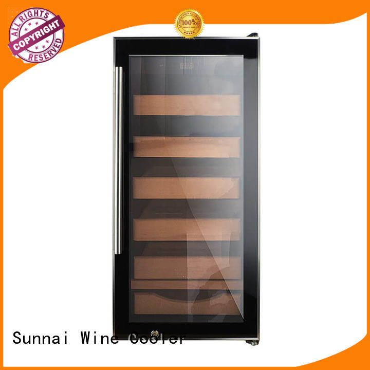 Sunnai wood cigar cooler manufacturer for indoor