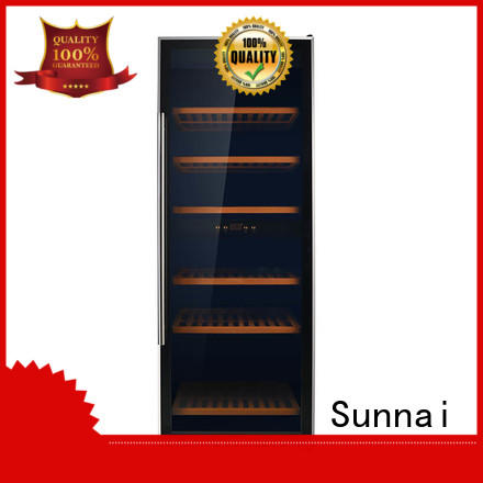 Sunnai single dual zone wine cooler series for home