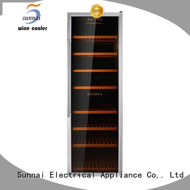 Sunnai single freestanding wine cooler series for indoor