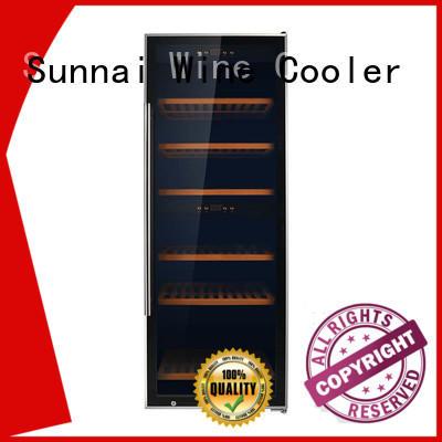 Sunnai beech wine bottle fridge manufacturer for shop