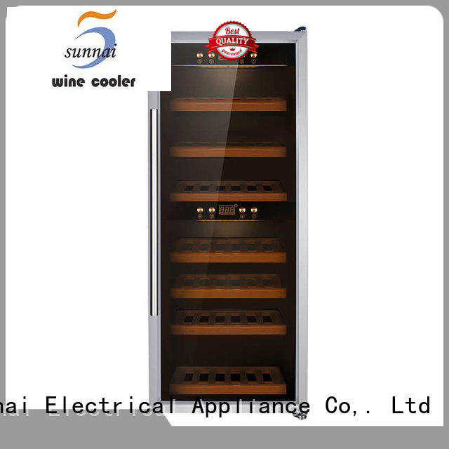 high quality dual zone wine fridge cellar wholesale for work station