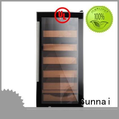 Sunnai quality cigar fridge manufacturer for home