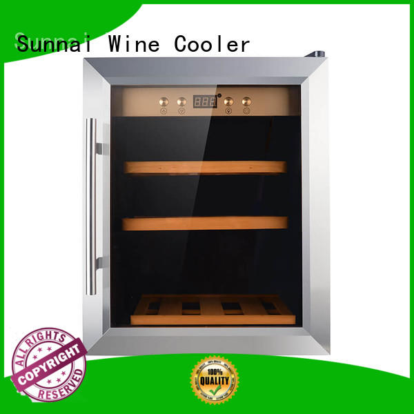 shelves thermoelectric wine cooler product station Sunnai
