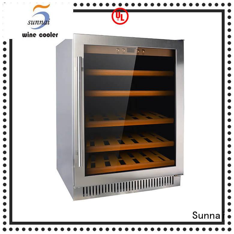Sunnai wine compressor wine coolers wholesale for indoor