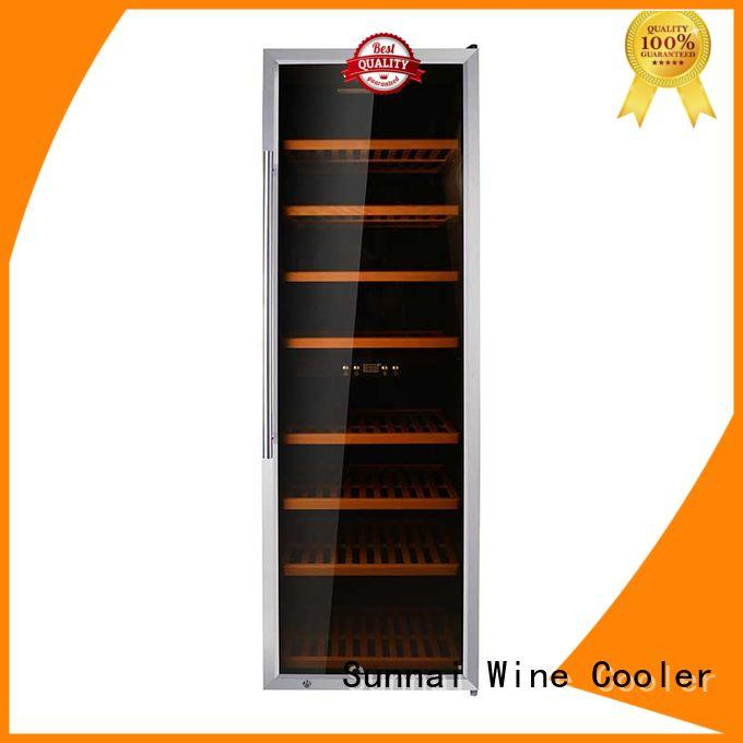safety dual zone wine fridge double wholesale for shop