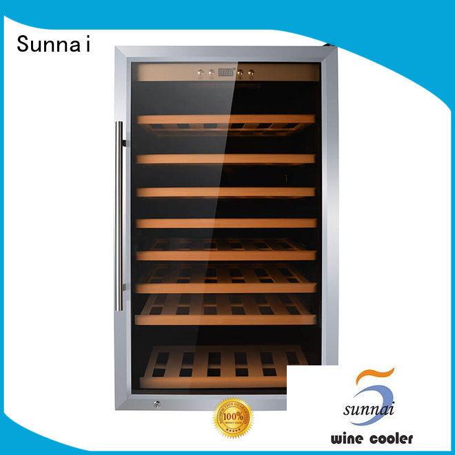 black wine storage refrigerator bottles refrigeratorfor work station