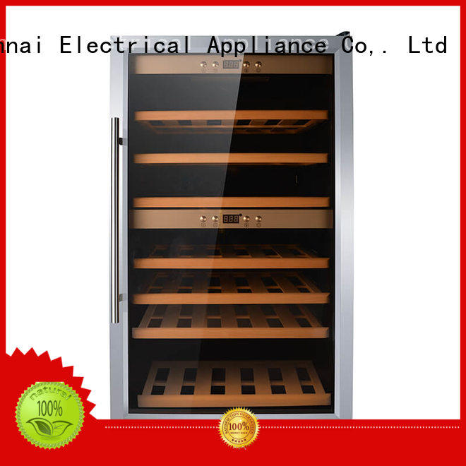 Sunnai smaller dual zone wine cooler series for shop