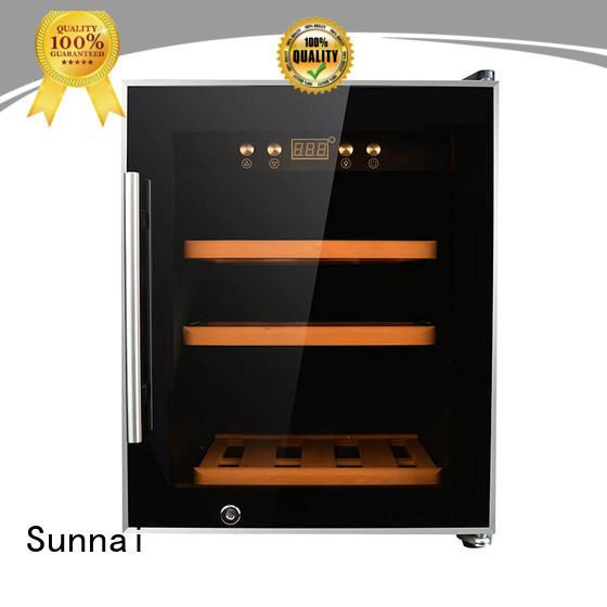 Sunnai durable dual zone wine refrigerator refrigerator for home