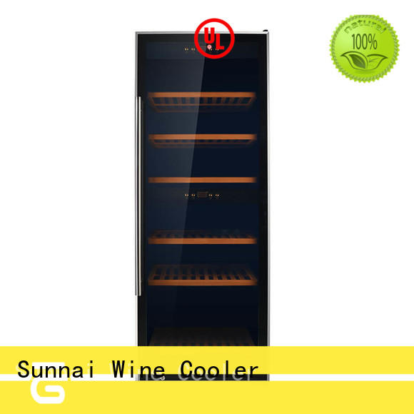 Sunnai smaller wine cooler refrigerator supplier for home