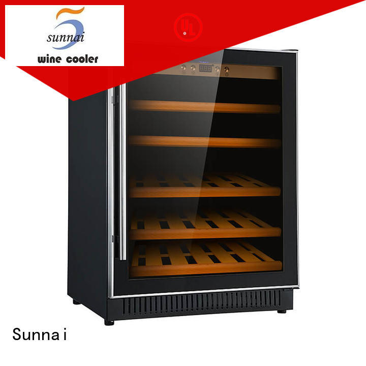 single compressor wine coolers undercounter cooler for home