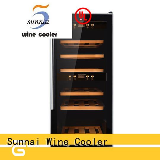 Sunnai high quality single zone wine cooler product for indoor