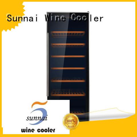 wine refrigerator dual zone freestanding shelves cellar refrigerator Sunnai Brand