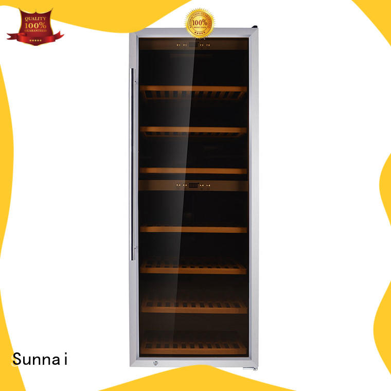 Sunnai safety wine cooler fridge supplier for home