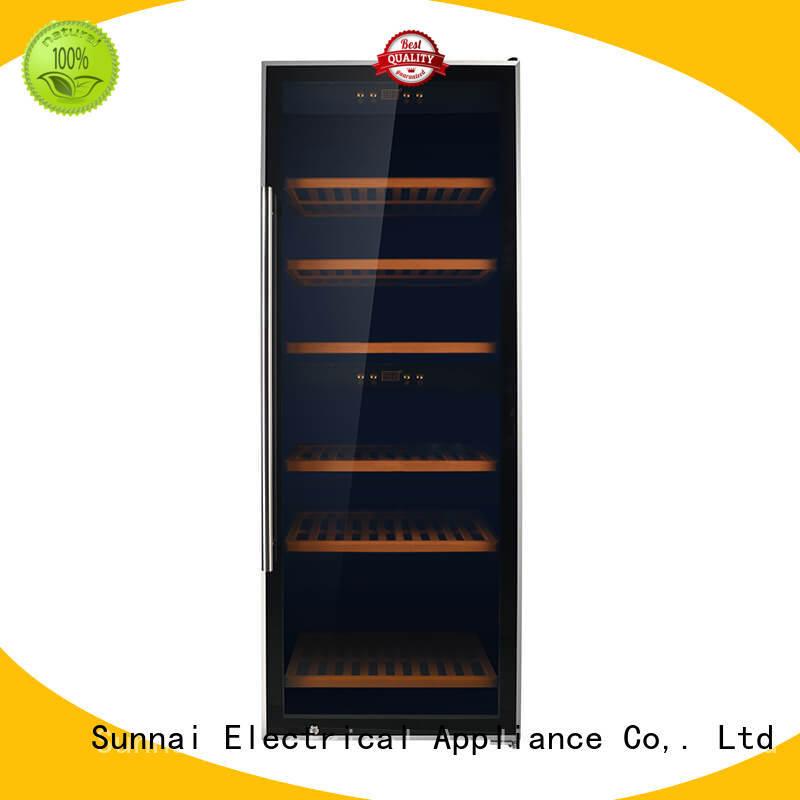 durable free standing wine refrigerator panel supplier for work station