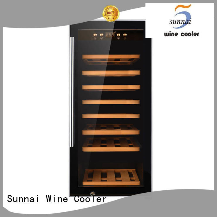 single dual zone wine refrigerator wine product for shop