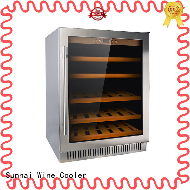 Sunnai safety under counter wine cooler compressor for indoor